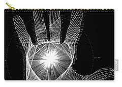 Quantum Hand Through My Eyes Carry-all Pouch