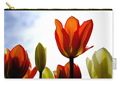Carry-all Pouch featuring the photograph Reaching For The Sun by Marilyn Wilson