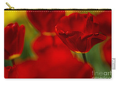 Red And Yellow Tulips Carry-all Pouch