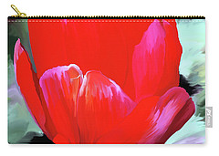 Carry-all Pouch featuring the photograph Red Hot by Patricia Griffin Brett