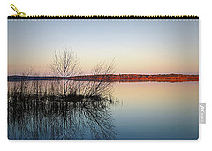 Reflections On Lake Jackson Tallahassee Carry-all Pouch by Paul  Wilford