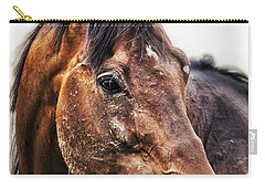 Carry-all Pouch featuring the photograph Resilience by Belinda Greb