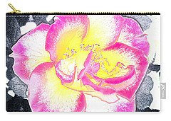 Rose 3 Carry-all Pouch by Pamela Cooper
