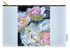 Rose 59 Carry-all Pouch by Pamela Cooper