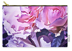 Rose 60 Carry-all Pouch by Pamela Cooper