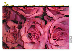 Rosebouquet In Pink Carry-all Pouch