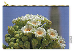 Saguaro Flower And Buds  Carry-all Pouch