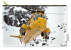 Seaking Helicopter Carry-all Pouch by Paul Fearn