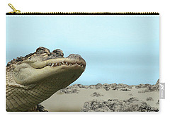 See You Later Alligator Carry-all Pouch by Ellen Henneke