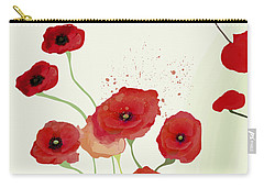 Sonata Of Poppies Carry-all Pouch