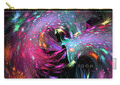Carry-all Pouch featuring the digital art Soon by Margie Chapman