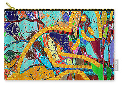 Soul Of A Tree Abstract  Navinjoshi  Rights Managed Images Graphic Design Is A Strategic Art Meaning Carry-all Pouch