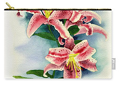 Stargazer Lilies Carry-all Pouch