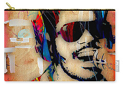 Stevie Wonder Collection Carry-all Pouch by Marvin Blaine