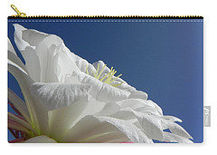 Carry-all Pouch featuring the photograph Striking Contrast by Deb Halloran