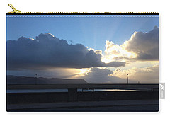 Sunbeams Over Conwy Carry-all Pouch