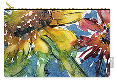 Sunflower Carry-all Pouch by Judith Levins
