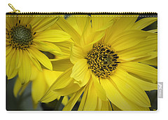 Sunflowers Carry-all Pouch by Fran Gallogly