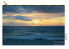 Carry-all Pouch featuring the photograph Sunrise In Deerfield Beach by Rafael Salazar