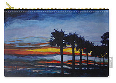 Sunset In St. Andrews Carry-all Pouch