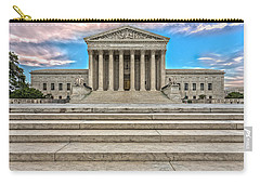 Carry-all Pouch featuring the photograph Supreme Court by Peter Lakomy