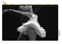Swan Lake  White Adagio  Russia 3 Carry-all Pouch by Clare Bambers