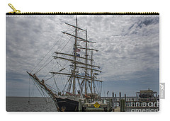 Carry-all Pouch featuring the photograph Tall Ship Gunilla by Dale Powell