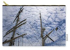 Carry-all Pouch featuring the photograph Tall Ship Mast by Dale Powell