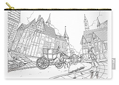 The Bavarian Village Carry-all Pouch
