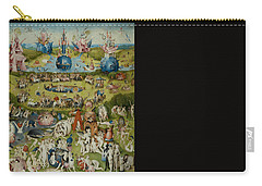 The Garden Of Earthly Delights Carry-all Pouch by Hieronymus Bosch