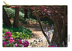 The Garden Path Carry-all Pouch by Michele Myers
