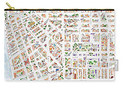 The Greenwich Village Map Carry-all Pouch