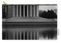 Carry-all Pouch featuring the photograph The Jefferson Memorial by Cora Wandel