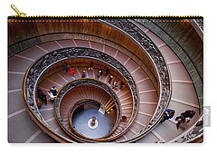 The Vatican Stairs Carry-all Pouch by Jouko Lehto