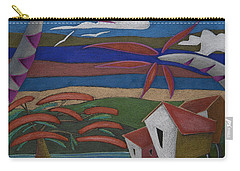 Carry-all Pouch featuring the painting Tiempos Y Remembranzas by Oscar Ortiz