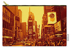 42nd Street And Times Square Manhattan Carry-all Pouch