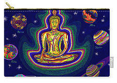 United Planets Of Buddha Carry-all Pouch by Robert SORENSEN