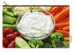Vegetables And Dip Carry-all Pouch