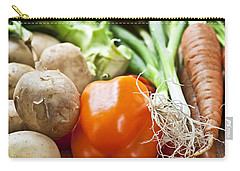 Vegetables Carry-all Pouch by Elena Elisseeva