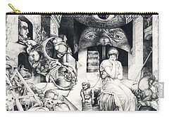Vindobona Altarpiece IIi - Snakes And Ladders Carry-all Pouch
