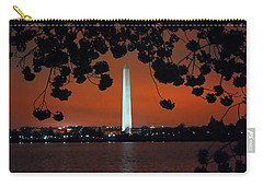 Carry-all Pouch featuring the photograph Washington Monument by Suzanne Stout