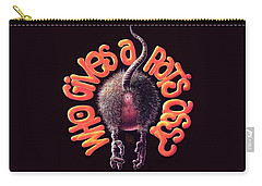 Who Gives A Rat's Ass? Carry-all Pouch
