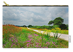 Wildflower Wonderland Carry-all Pouch by Lynn Bauer