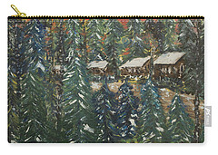 Winter Has Come To Door County. Carry-all Pouch