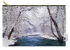 Winter White Carry-all Pouch by Jessica Jenney