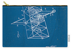 Wright Brothers Flying Machine Patent Carry-all Pouch