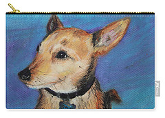 Zack Carry-all Pouch by Jeanne Fischer