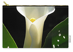 Zantedeschia Named Little Jimmy Carry-all Pouch by J McCombie