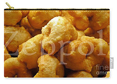 Carry-all Pouch featuring the photograph Zeppoli by Lilliana Mendez