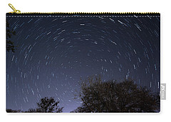 Carry-all Pouch featuring the photograph 20 Minutes Of Star Movement by Todd Aaron